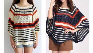 Knit Pattern Cloak