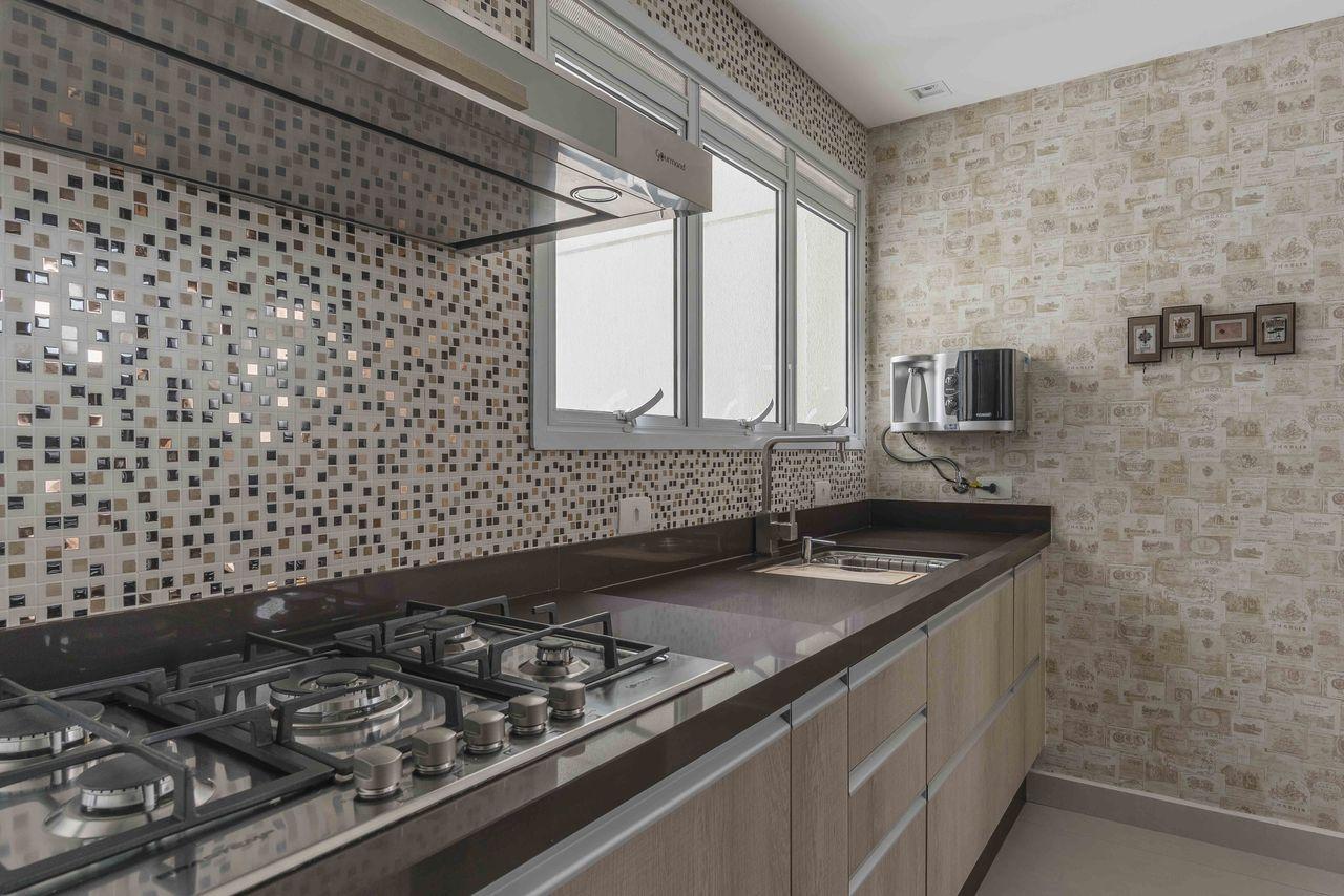 Cozinha Com Azulejos Retr E Pastilhas Cobre Iris Pinterest  ~ Cozinha Decorada Com Pastilhas