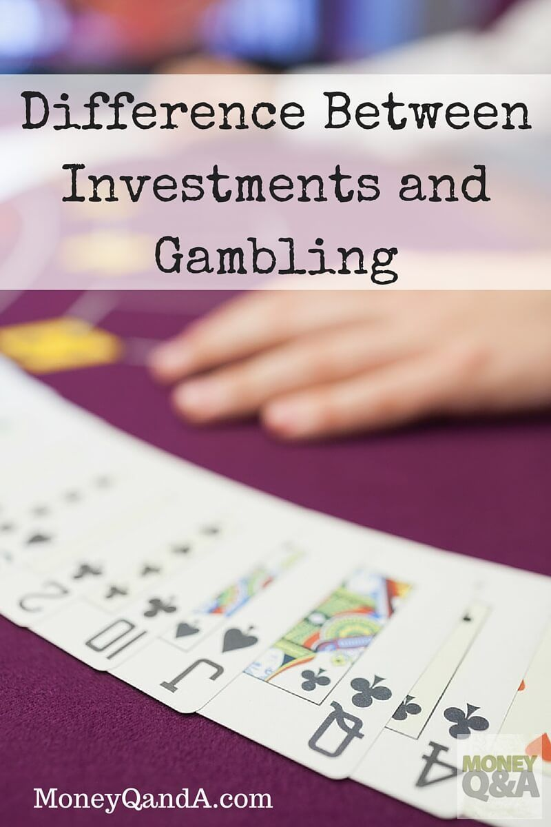 Is the stock market gambling why trading in the stock