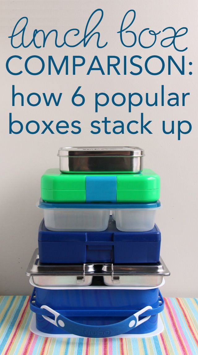 lunch box comparison chart how 6 popular boxes stack up awesome charts and student centered. Black Bedroom Furniture Sets. Home Design Ideas
