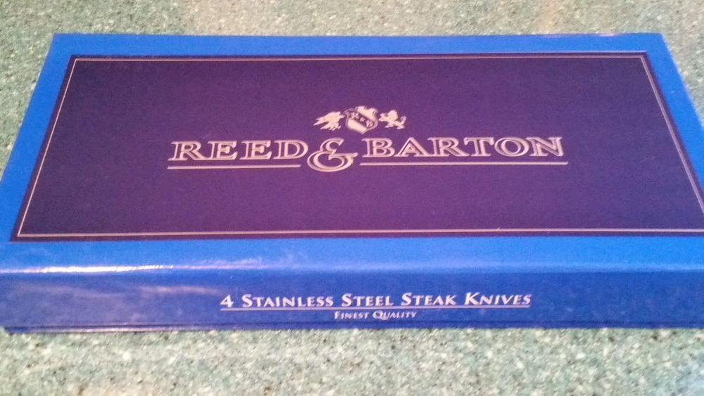 """REED & BARTON """"GOLDEN JUBILEE"""" STAINLESS STEEL STEAK"""