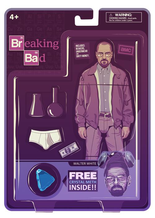 BREAKING BAD ACTION FIGURES - Walter