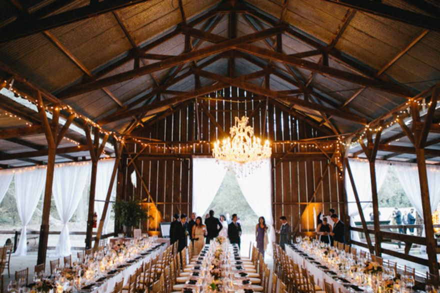 Barn Receptions Can Be Rustic And Oh So Lovely By Leo Evidente