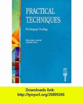 practical techniques for language teaching michael lewis pdf free