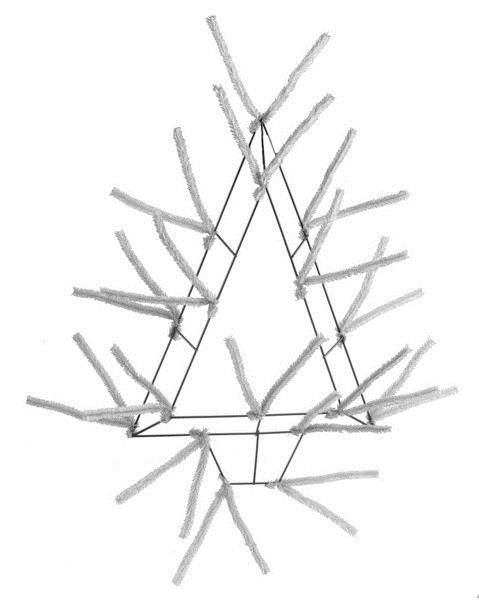 20 Pencil Open Tree Work Form White