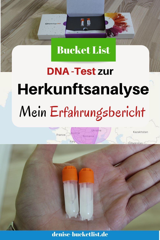 DNA-Herkunftsanalyse - Woher kommen meine Vorfahrungen