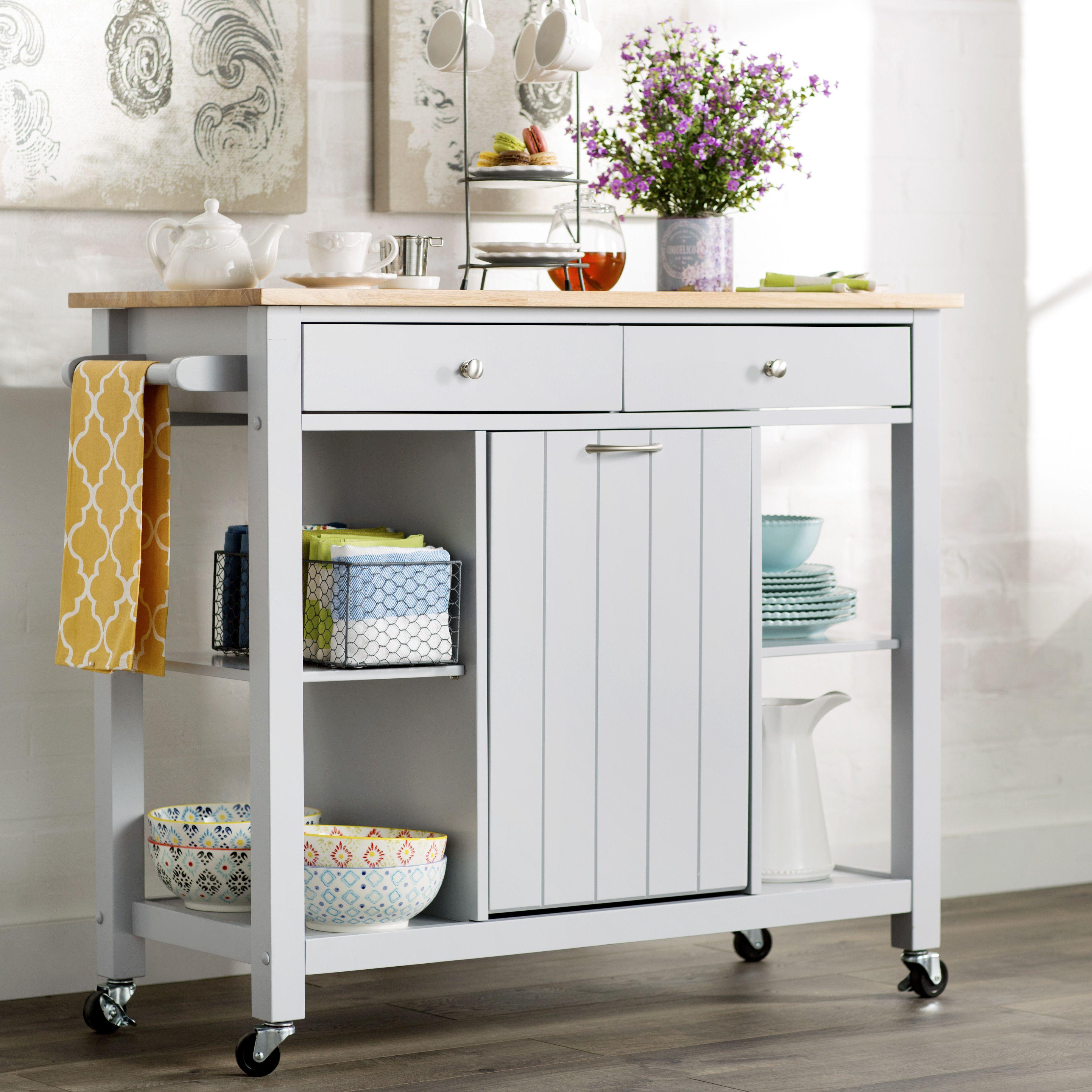 Lark Manor Rodemack Kitchen Cart   Kitchen   Pinterest