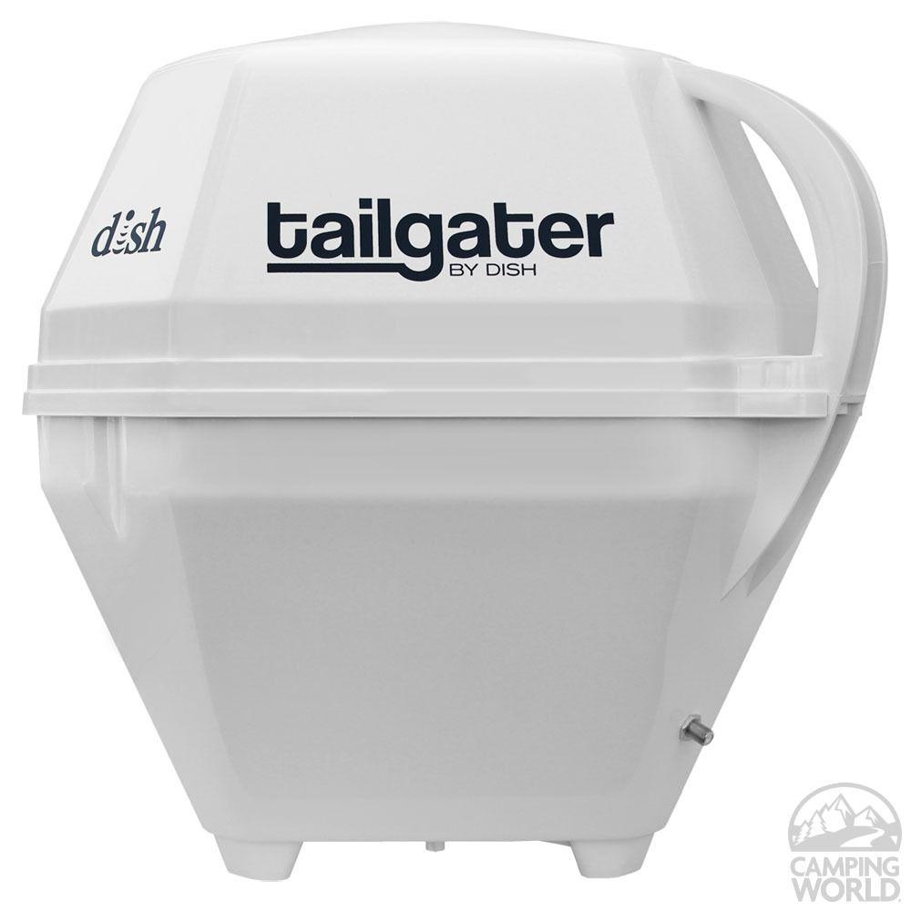 Dish tailgater satellite antenna king controls vq2500