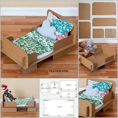 Puppen bett diy Deko Pinterest Bett, Puppen und Spielideen - rauch schlafzimmer ricarda