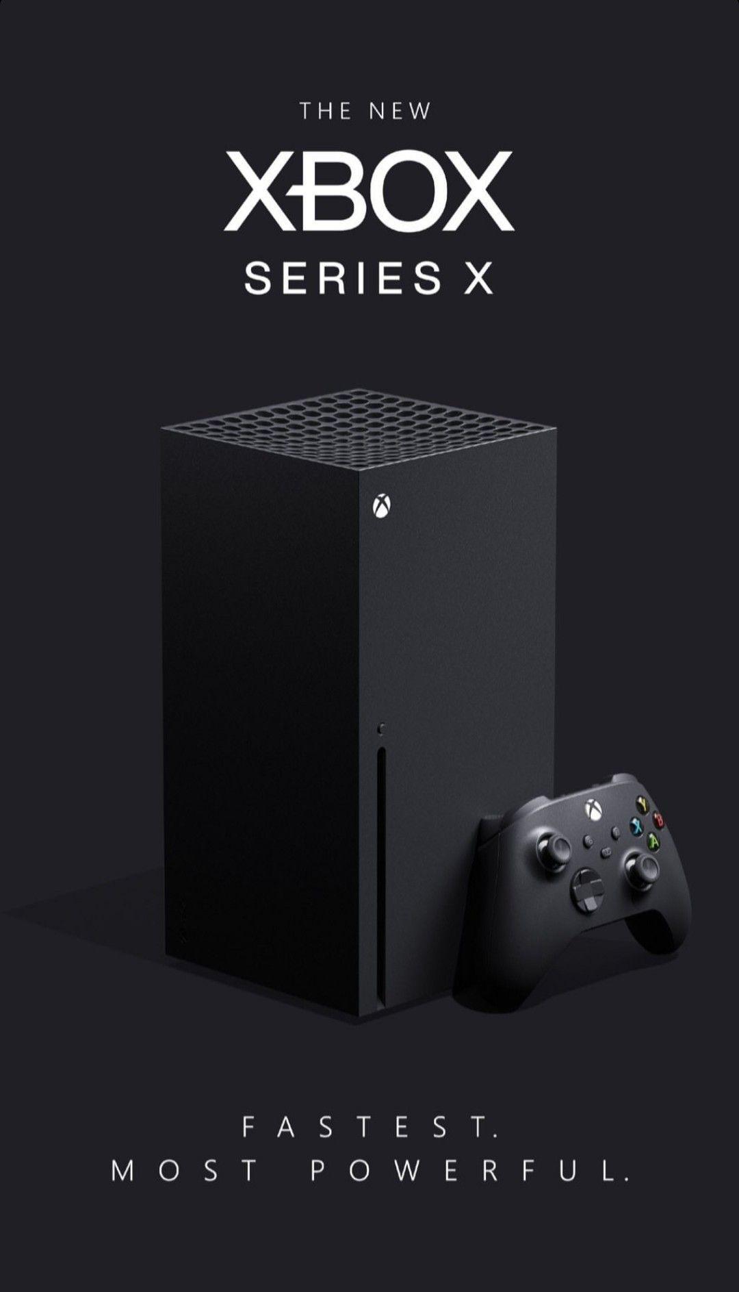 O novo Xbox Series X em 2020 Consoles de videogame
