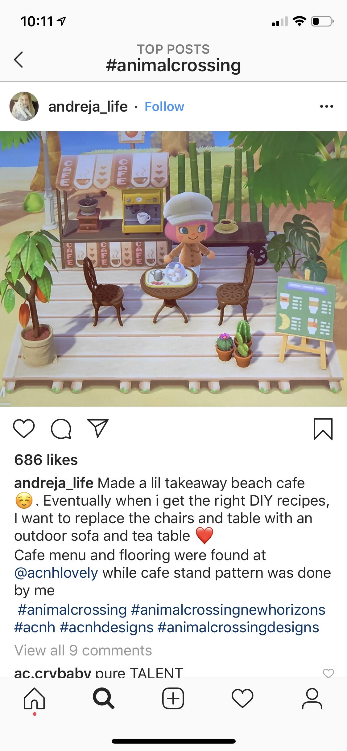 Take Away Beach Cafe By Andreja Life Animal Crossing Cafe Animal Crossing Animal Crossing Game