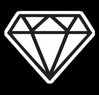 Diamond Desenho Diamante Diamante Tatuagem Tatoo Diamante