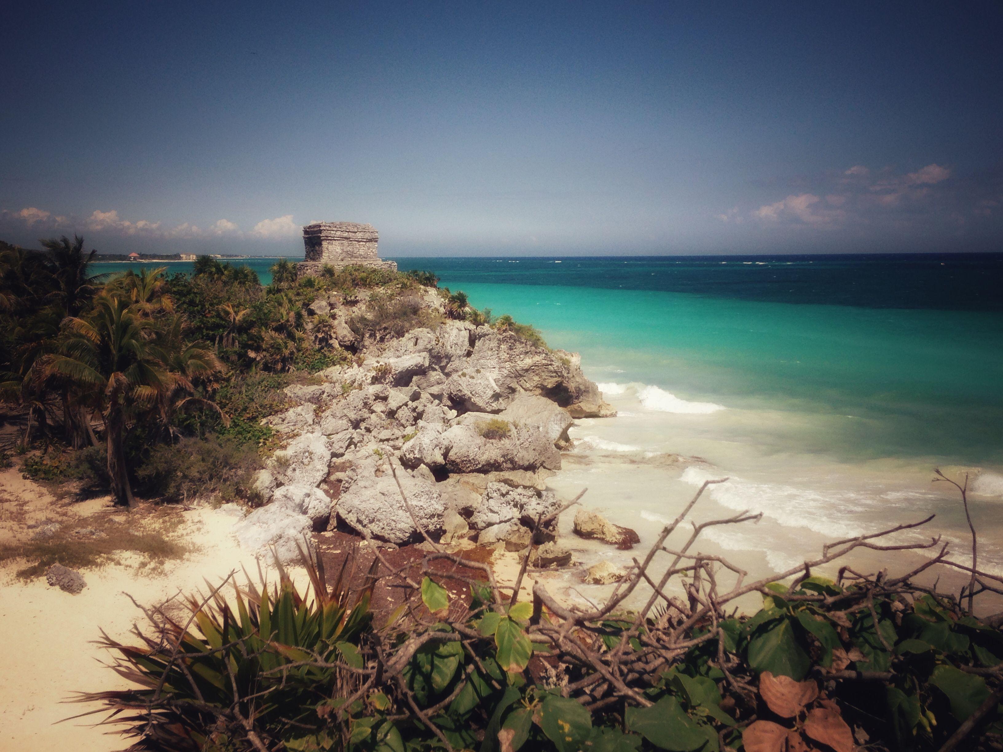 Tulum mayan ruins_Quintana Roo Mexico