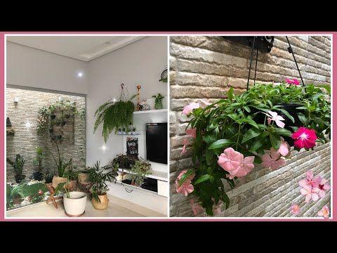 Comprei plantas novas / Tour floricultura / Almoço - YouTube