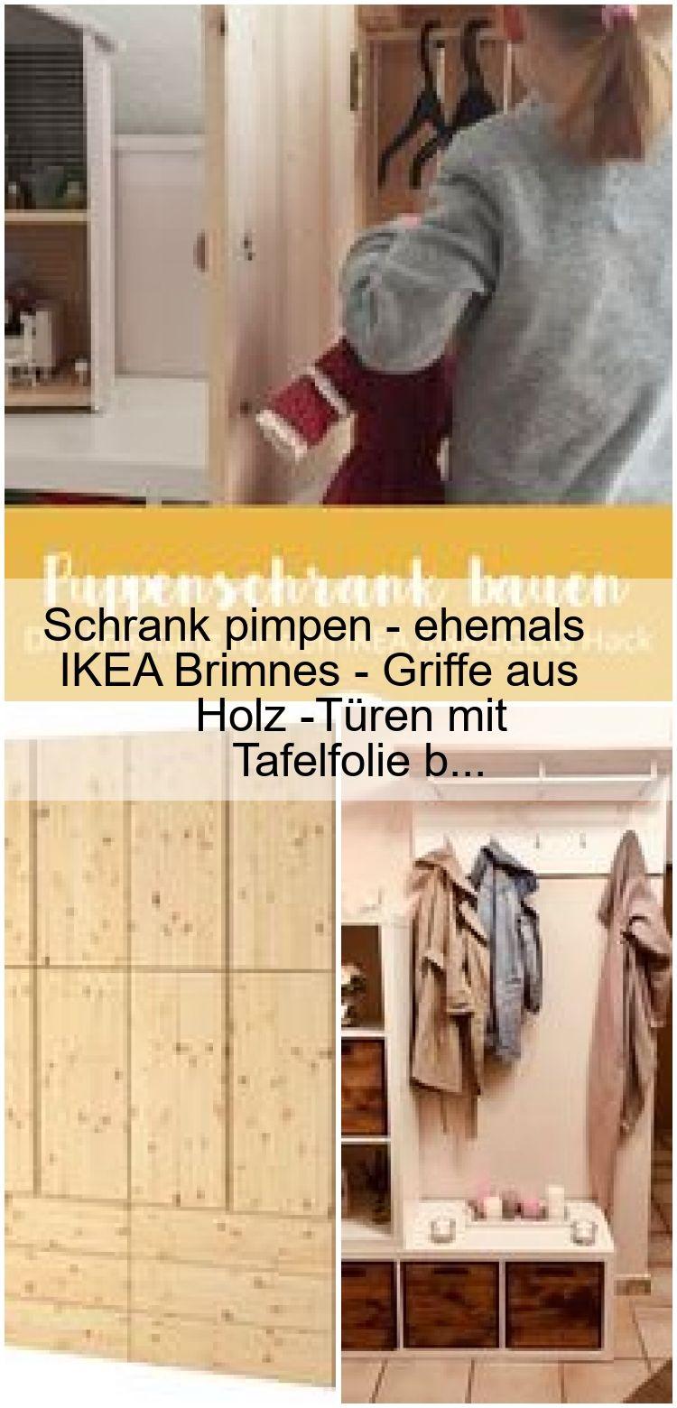 Schrank Pimpen Ehemals Ikea Brimnes Griffe Aus Holz Turen Mit Tafelfolie B Tafelfolie Ikea Schrank