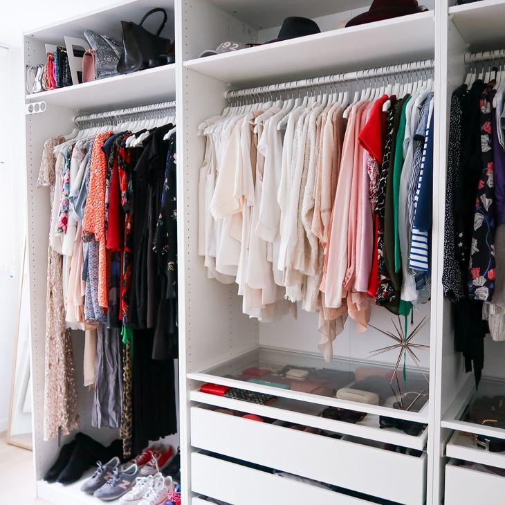 Closet tour (With images) Closet tour, Closet remodel