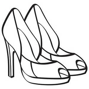 Free Printable Coloring Pages For Shoes Yahoo Image Search
