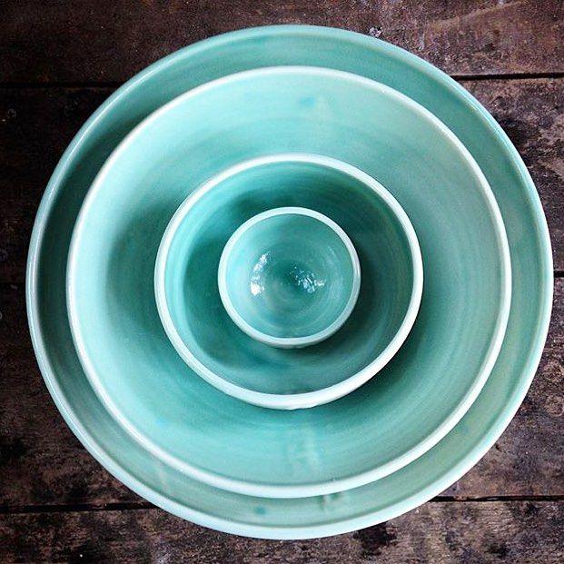 Handcrafted porcelain bowls by @ofhandstudios  Shop // ofhandsstudios.etsy.com by nativehandcraft