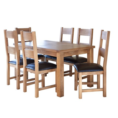 Natur Pur Ashly Extendable Dining Table Extendable Dining Table