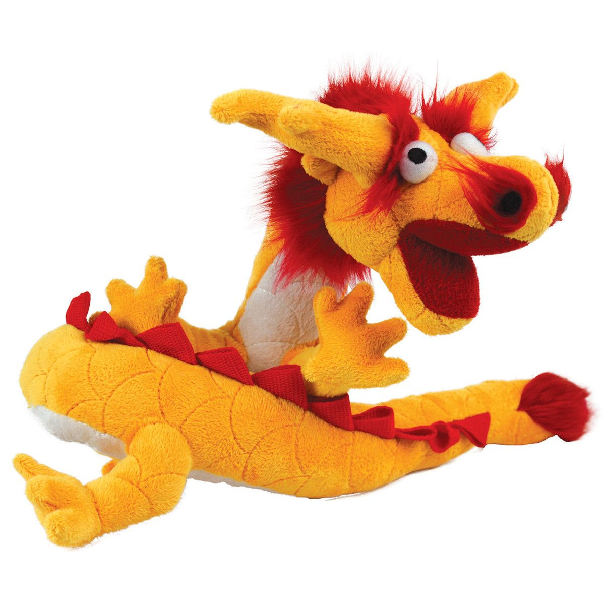 Mighty Toy Yellow Dragon By Mighty Dog Toys Vip Products Dragon Toys Dog Toys