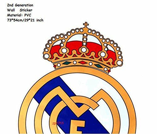 Real Madrid Logo Xxl Wall Stickers Soccer Art Decal Sports Flag Ronaldo Football Team Shield For More Information Sports Flags Soccer Art Real Madrid Logo