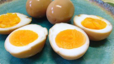 Boiled Egg with Soy Sauce