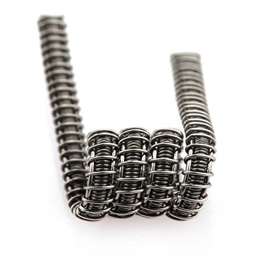 awesome 10 PCS Clapton Coil, Super Kanthal A1 Wires Violence Heating ...