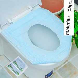 Disposable Paper Toilet Seat Cover Protector Camping Travel Toilet