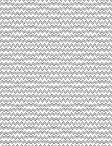 STANDARD size JPG light grey chevron printable scrapbook paper - hexagon graph paper