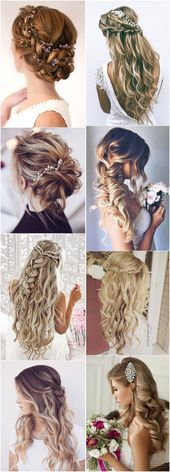 19 Stylish Wedding Hairstyles to Brighten up Your Big Day  Hair