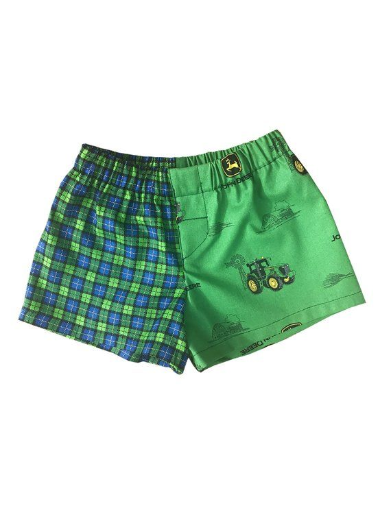 2562bbc88e3cb John Deere Boy Potty Training Pants Cover Two-Tone Infant, Toddler Boys  Boxer Shorts Briefs Underwea