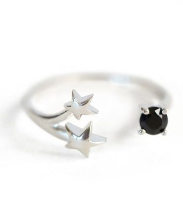 Orion Silver Ring by Pamela Love