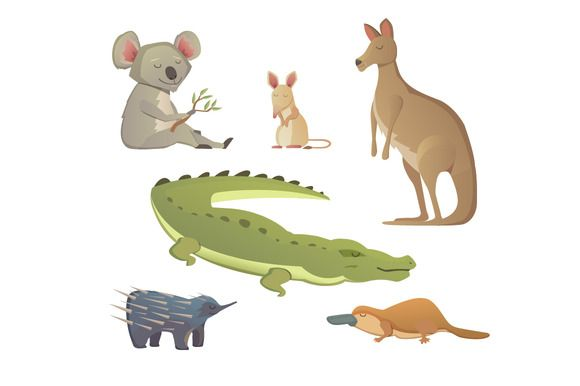 35+ Animals Live In Land Clipart