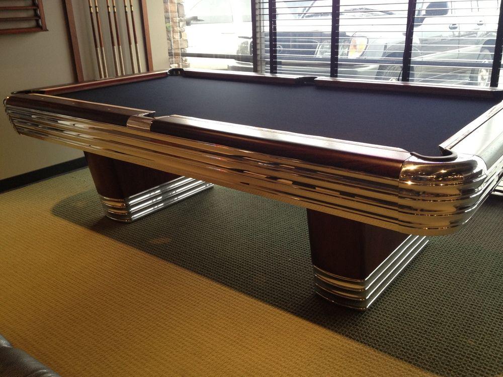 e4009470e759 Brunswick Billiards Centennial Antique Pool Table. Come see at Nashville  Billiard   Patio