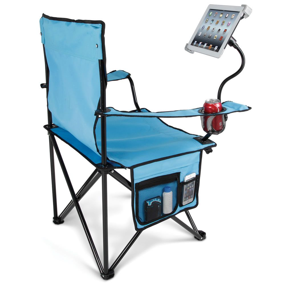 portable lawn chairs ice cream the tablet chair 59 95 this is equipped with a flexible arm and bracket that secures for easy browsing
