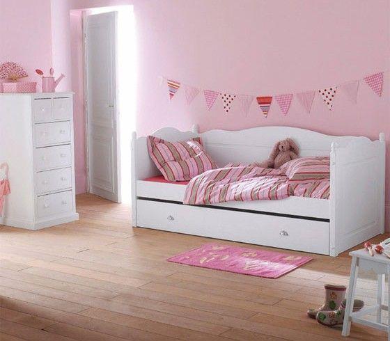 Parfait Deco Chambre Petite Fille Rose Idees Impressionnantes