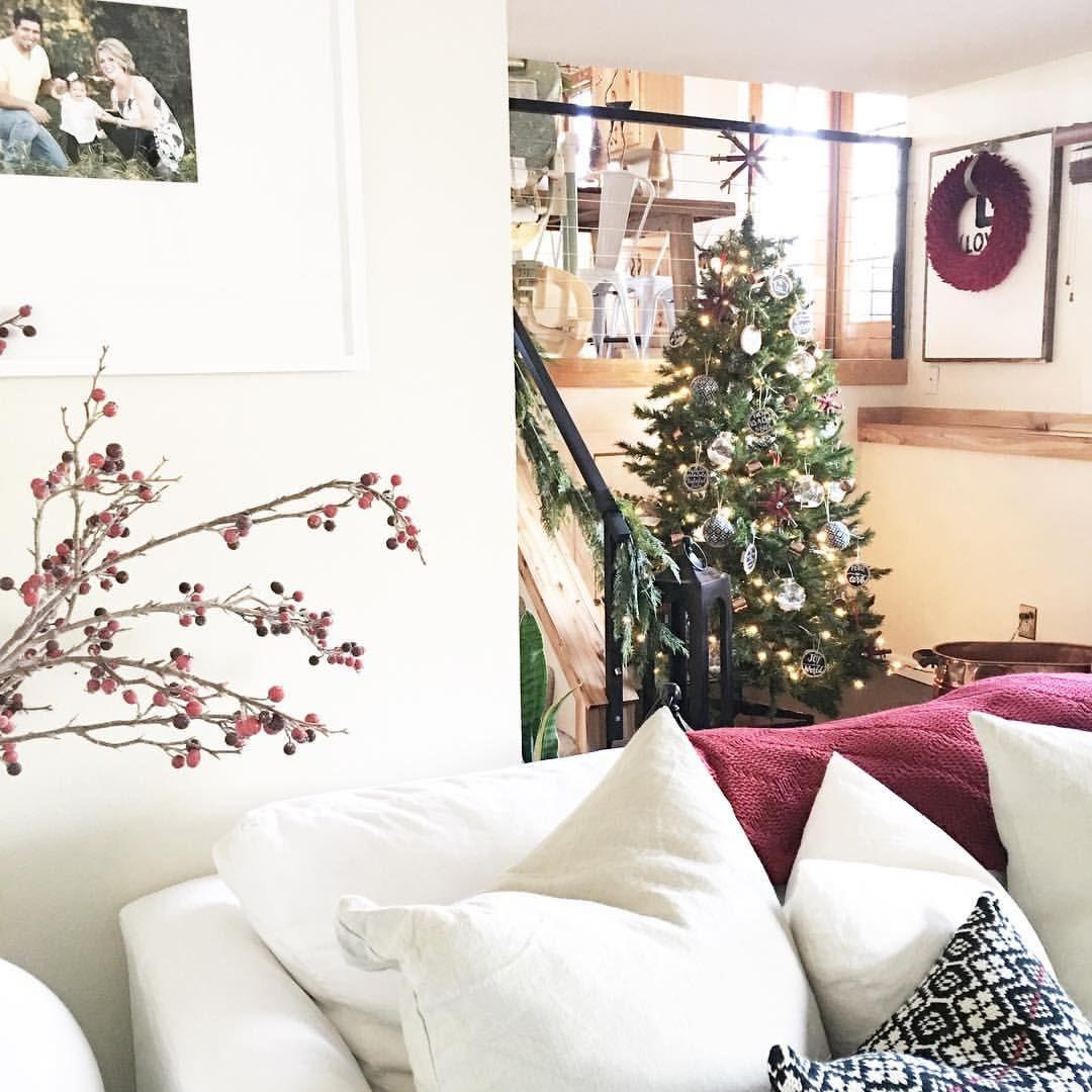 Christmas decor living room See this Instagram photo by @kj.loya ...