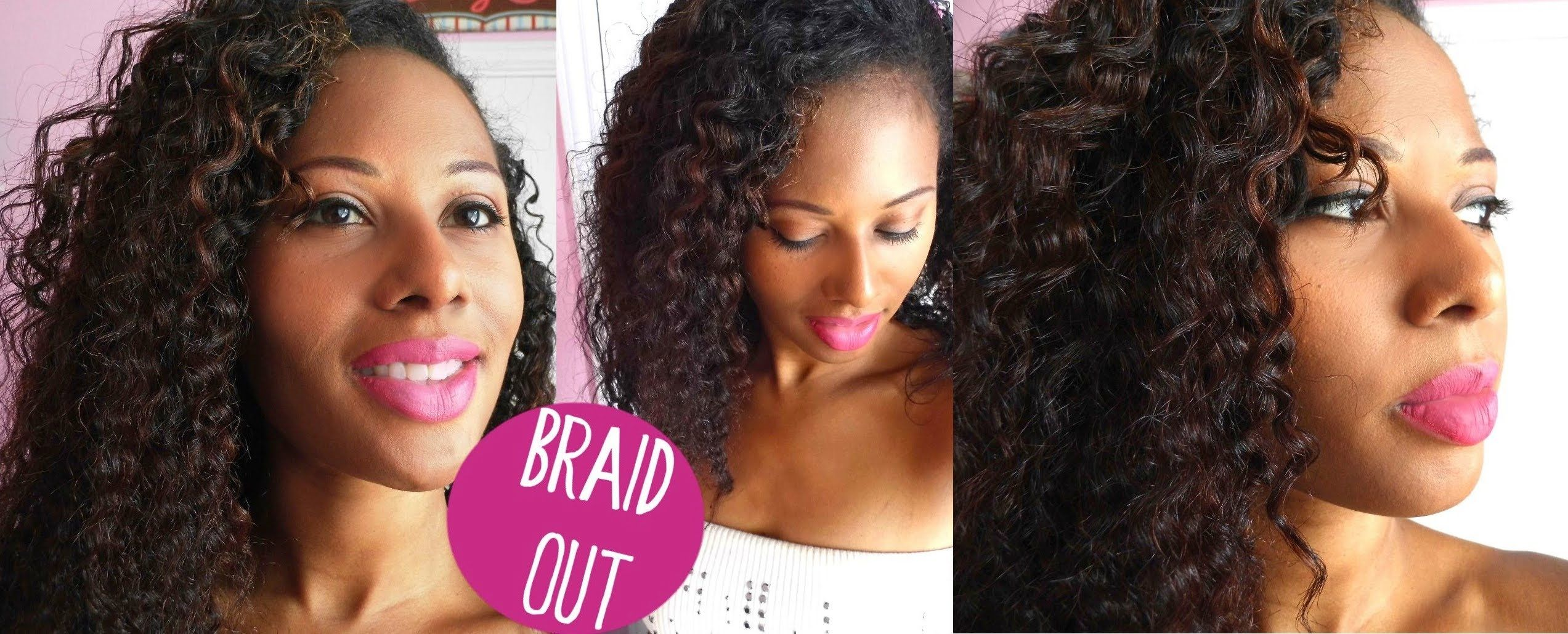 My best braid out yet hairstyles pinterest beautiful braids