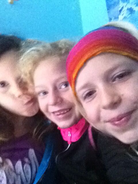 Best friends forever!! Me Sami and carys