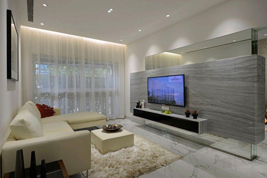 Planos y dise o de interiores de departamento de tres for Disenos de departamentos minimalistas