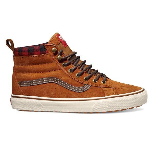 2442150b6a Van Men s Sk8-Hi MTE Glazed Ginger Shoes - Sun   Ski Sports