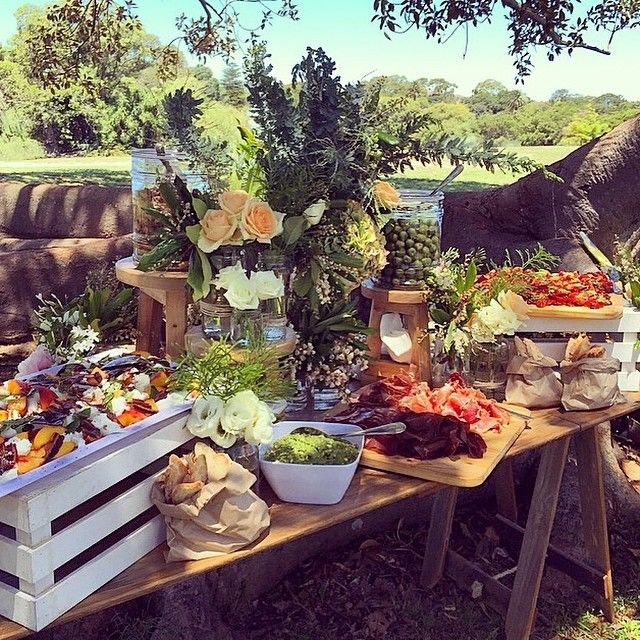 Wedding Food Tables: Wedding Ideas In 2019