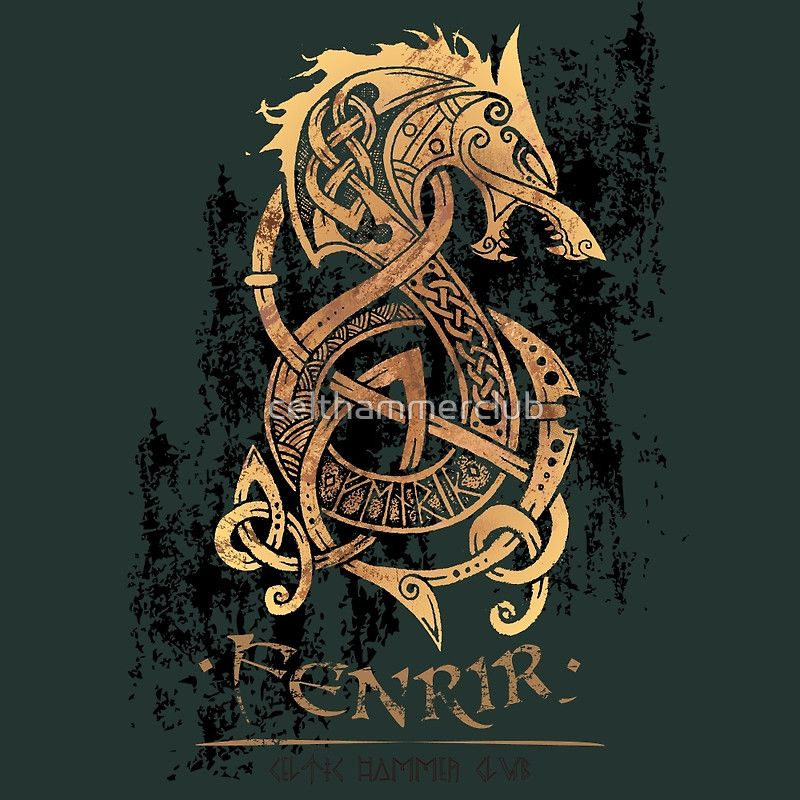 Fenrir wolf symbol - photo#33