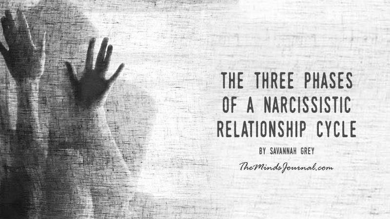 Three phases of a narcissistic relationship