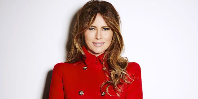 Melania Trump Biography Age Weight Height Friend Like Affairs Favourite Birthdate Fashion Red Leather Jacket Lady