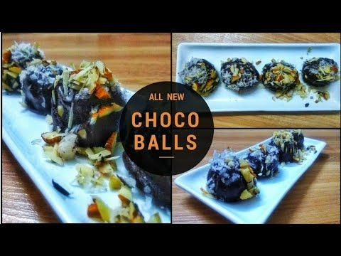 Photo of Dark Chocolate Balls Chocolate Laddoo | #Ferrero Rocher Chocol …
