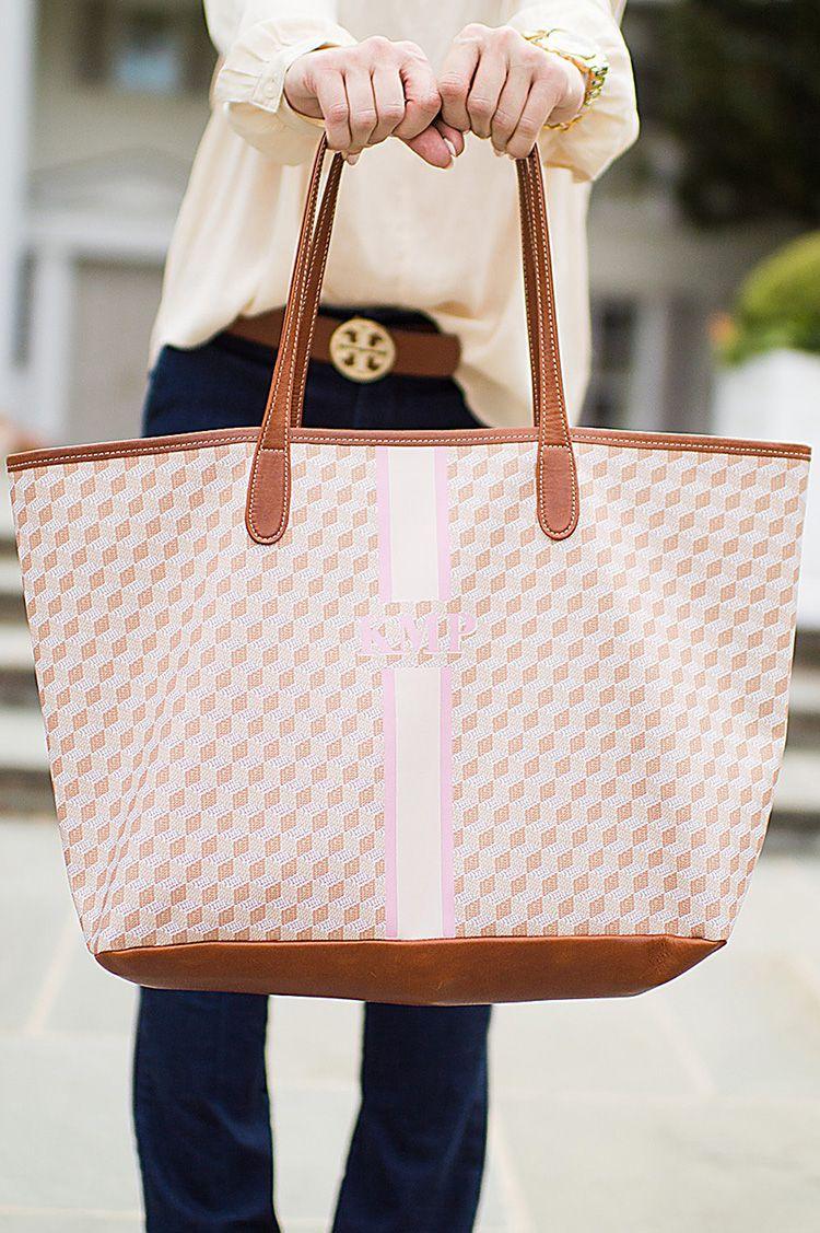 Monogram Tote Bags Bag