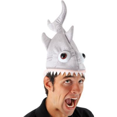 plush shark hat halloween hatsfunny