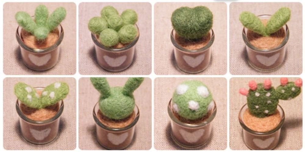 we speak English discount set / finished product /wish bottles / decoration / wool felt / cactus / gift / handicraft / handmade-in Decoration Crafts from Home & Garden on Aliexpress.com | Alibaba Group