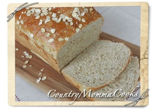 Leftover Oatmeal Bread @CountryMommaCooks.com